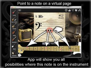 Notes Finder Bass Guitar Page