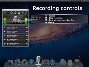 Easy Audio Recorder Recording Controls