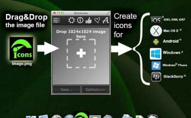 Quick Icons – create logos for your apps automatically! - desktoppc11
